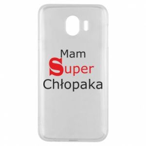Phone case for Samsung J4 I have a Super Boy - PrintSalon