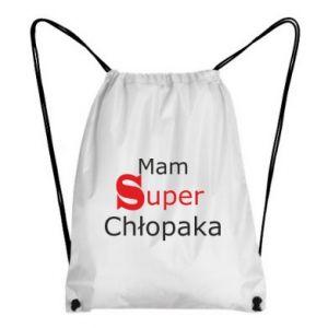 Plecak-worek Mam Super Chłopaka