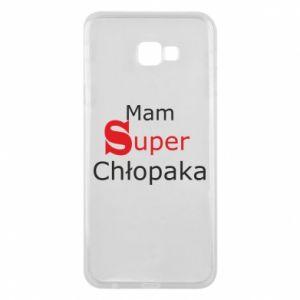 Phone case for Samsung J4 Plus 2018 I have a Super Boy - PrintSalon