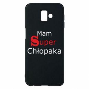 Phone case for Samsung J6 Plus 2018 I have a Super Boy - PrintSalon