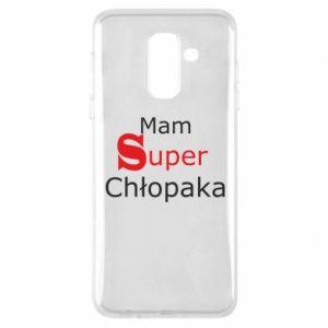 Phone case for Samsung A6+ 2018 I have a Super Boy - PrintSalon