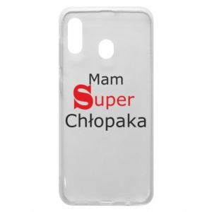 Phone case for Samsung A20 I have a Super Boy - PrintSalon