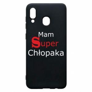 Phone case for Samsung A30 I have a Super Boy - PrintSalon