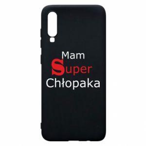 Phone case for Samsung A70 I have a Super Boy - PrintSalon