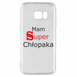 Phone case for Samsung S7 I have a Super Boy - PrintSalon