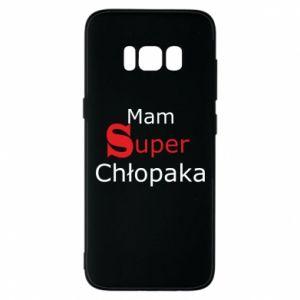 Phone case for Samsung S8 I have a Super Boy - PrintSalon
