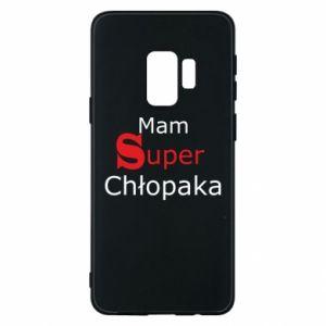 Phone case for Samsung S9 I have a Super Boy - PrintSalon