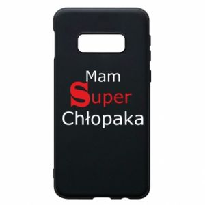 Phone case for Samsung S10e I have a Super Boy - PrintSalon
