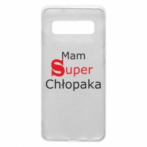Phone case for Samsung S10 I have a Super Boy - PrintSalon