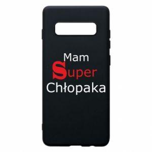 Phone case for Samsung S10+ I have a Super Boy - PrintSalon
