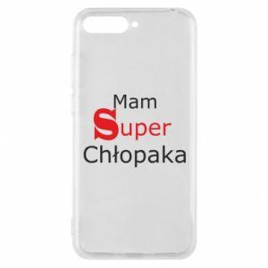 Phone case for Huawei Y6 2018 I have a Super Boy - PrintSalon