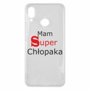 Phone case for Huawei P Smart Plus I have a Super Boy - PrintSalon