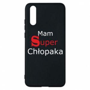 Phone case for Huawei P20 I have a Super Boy - PrintSalon