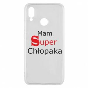 Phone case for Huawei P20 Lite I have a Super Boy - PrintSalon
