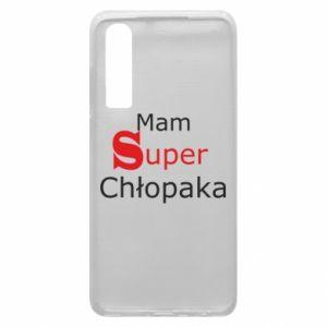 Phone case for Huawei P30 I have a Super Boy - PrintSalon
