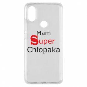 Phone case for Xiaomi Mi A2 I have a Super Boy - PrintSalon