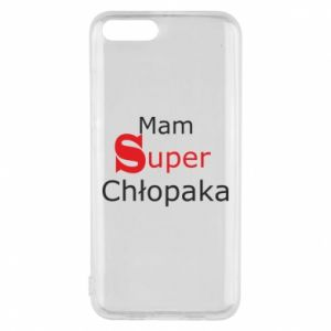 Phone case for Xiaomi Mi6 I have a Super Boy - PrintSalon