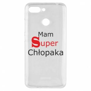 Phone case for Xiaomi Redmi 6 I have a Super Boy - PrintSalon