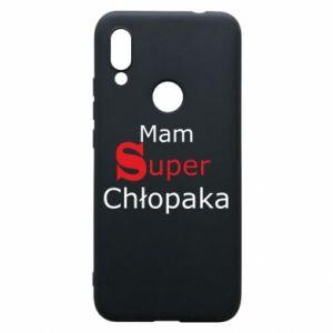 Phone case for Xiaomi Redmi 7 I have a Super Boy - PrintSalon