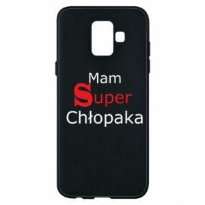 Phone case for Samsung A6 2018 I have a Super Boy - PrintSalon