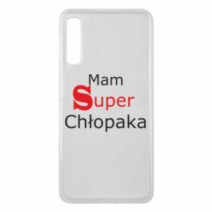 Phone case for Samsung A7 2018 I have a Super Boy - PrintSalon