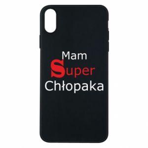 Etui na iPhone Xs Max Mam Super Chłopaka