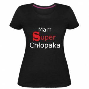 Women's premium t-shirt I have a Super Boy - PrintSalon