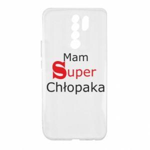 Etui na Xiaomi Redmi 9 Mam Super Chłopaka
