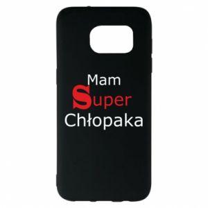 Etui na Samsung S7 EDGE Mam Super Chłopaka