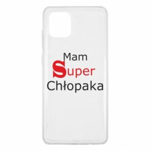 Etui na Samsung Note 10 Lite Mam Super Chłopaka
