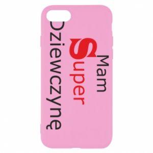 Etui na iPhone SE 2020 Mam Super Dziewczynę