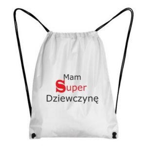 Plecak-worek Mam Super Dziewczynę