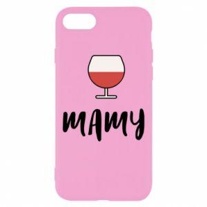 Etui na iPhone SE 2020 Mama i wino