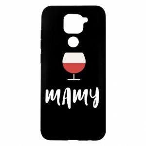 Etui na Xiaomi Redmi Note 9/Redmi 10X Mama i wino