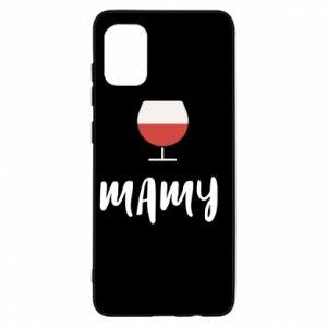Etui na Samsung A31 Mama i wino