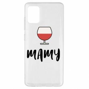 Etui na Samsung A51 Mama i wino