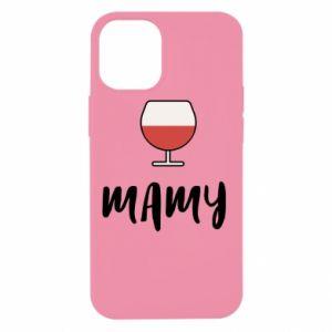 Etui na iPhone 12 Mini Mama i wino