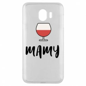 Phone case for Samsung J4 Mommy and wine