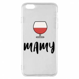Phone case for iPhone 6 Plus/6S Plus Mommy and wine