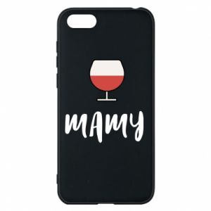 Phone case for Huawei Y5 2018 Mommy and wine