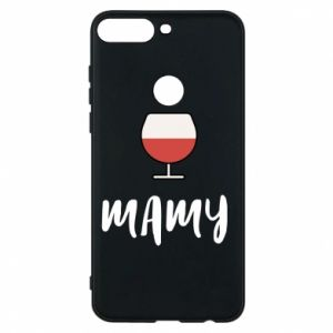 Phone case for Huawei Y7 Prime 2018 Mommy and wine