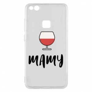 Phone case for Huawei P10 Lite Mommy and wine
