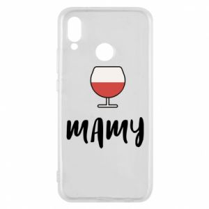 Phone case for Huawei P20 Lite Mommy and wine