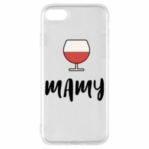 Phone case for iPhone 7 Mommy and wine
