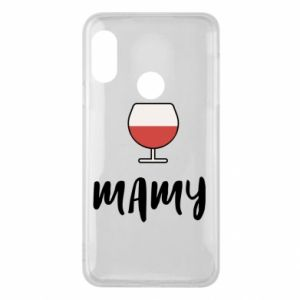 Phone case for Mi A2 Lite Mommy and wine
