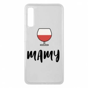 Phone case for Samsung A7 2018 Mommy and wine
