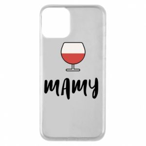 Phone case for iPhone 11 Mommy and wine
