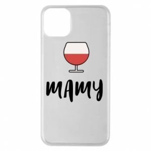Phone case for iPhone 11 Pro Max Mommy and wine