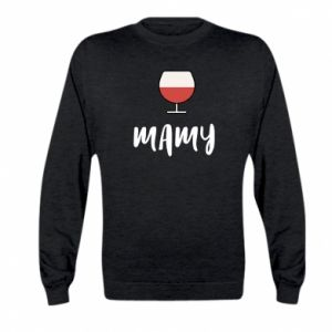 Bluza dziecięca Mama i wino