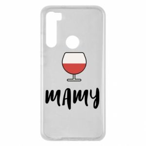 Etui na Xiaomi Redmi Note 8 Mama i wino